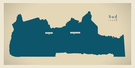 sud: Modern Map - Sud CM