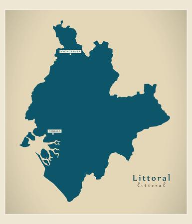 Modern Map - Littoral CM
