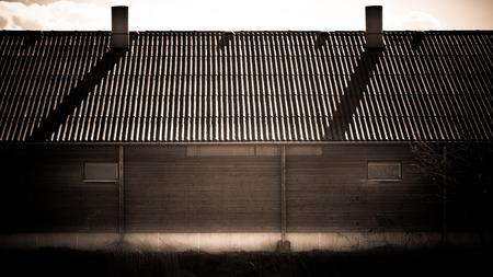 Warehouse backside
