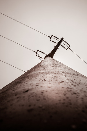 Electricity pylon Imagens - 69049124