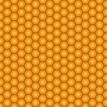 pentagon: Orange seamless pentagon background pattern