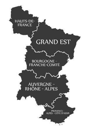 Hauts-de-France - Grand Est - Bourgogne - Auvergne - Provence ...