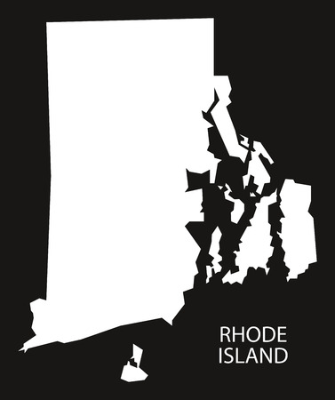 742 Rhode Island Map Stock Illustrations, Cliparts And Royalty Free ...