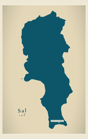 Modern Map - Sal CV