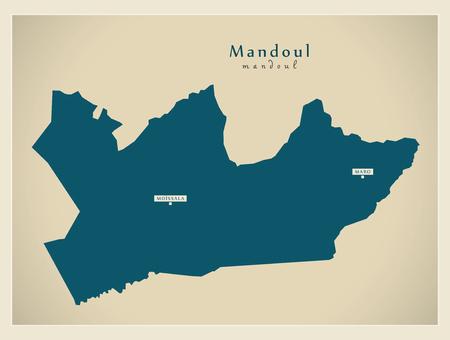 Modern Map - Mandoul TD