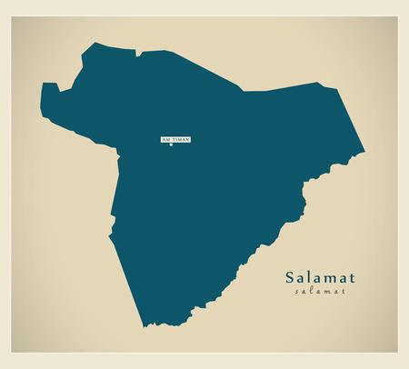 Modern Map - Salamat TD