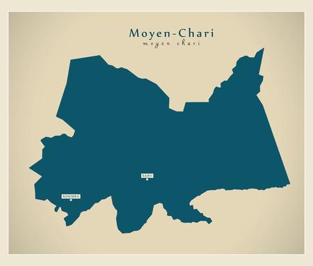 Modern Map - Moyen-Chari TD