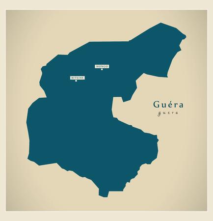 td: Modern Map - Guera TD