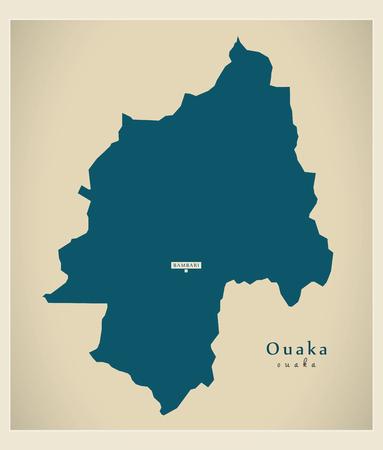 Modern Map - Ouaka CF Illustration