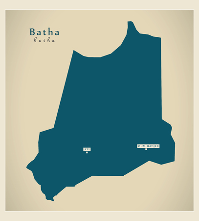 Modern Map - Batha TD