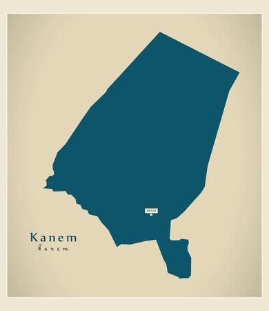 Modern Map - Kanem TD