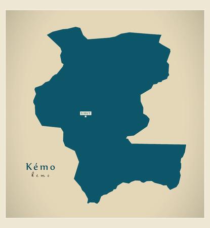 Modern Map - Kemo CF