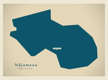 Modern Map - Ndjamena TD