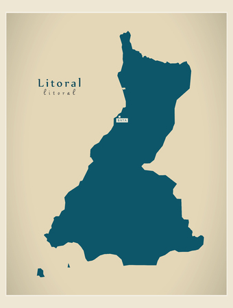 Modern Map - Litoral GQ