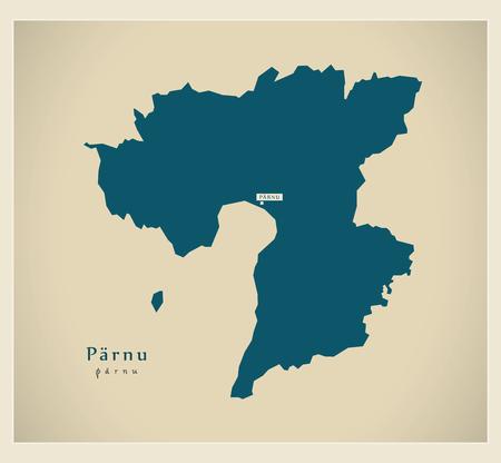 Modern Map - Parnu EE