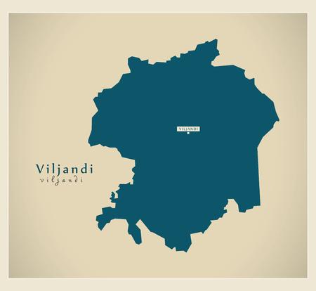 ee: Modern Map - Viljandi EE
