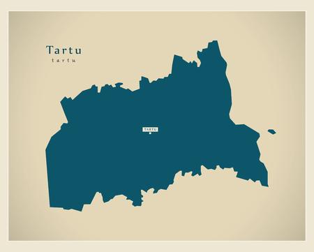 Modern Map - Tartu EE