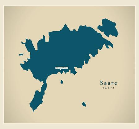 Modern Map - Saare EE