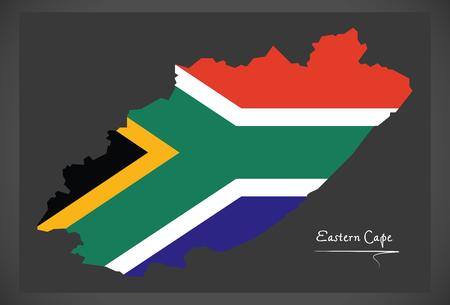 Cartina Muta Del Sudafrica.Vettoriale Mappa Del Sud Africa Come Un Pezzo Grigio Eastern Cape E Evidenziato In Rosso Image 58341931