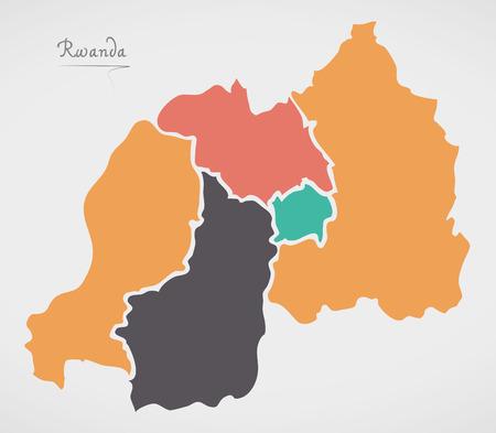 Rwanda Map Images Stock Pictures Royalty Free Rwanda Map Photos - Rwanda map