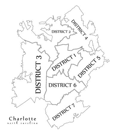 279 Charlotte North Carolina Cliparts Stock Vector And Royalty Free - Us-map-charlotte-nc