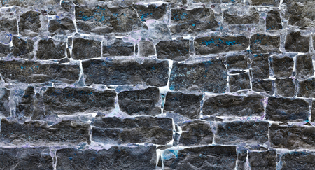 Surreal brick wall background - inverted colors give a fairytale like effect to this image