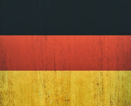 Germany flag background in vintage style