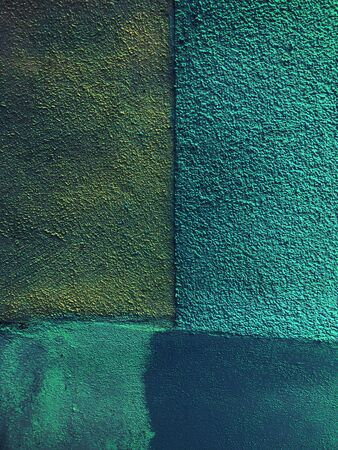 Abstract and green rough concrete background texture