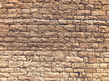 Sandstone brick wall background texture