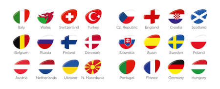 All Soccer Teams for 2021 football tournament in Europe