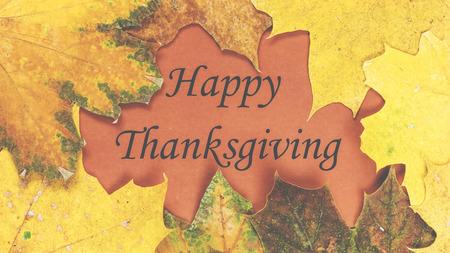 American Indian: D�a de Acci�n de Gracias. Decoraci�n para la celebraci�n navide�a con hojas de oto�o Foto de archivo