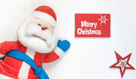 cristmas: Merry Cristmas gift. Merry Cristmas and happy new year card. Happy Santa Claus