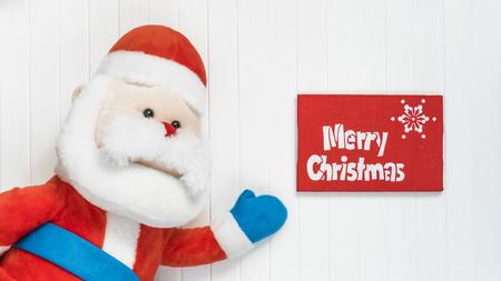 cristmas card: Merry Cristmas gift. Merry Cristmas and happy new year card. Santa Claus congratulation