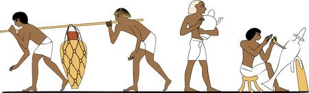 Ancient Egypt potters