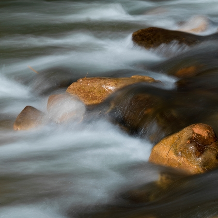 River, Zion National Park, Utah, USA Stock Photo
