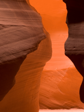 Slot canyon, Tse Bighanilini, Upper Antelope Canyon, Antelope Canyon, Page, Arizona, USA