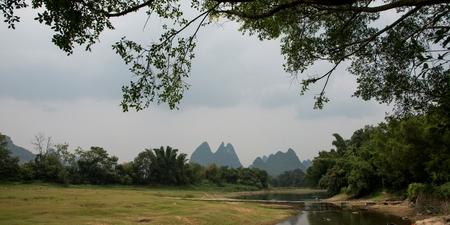 Yangshuo, Guilin, Guangxi, China Banco de Imagens