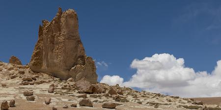 View of cathedral rock, Salar de Atacama