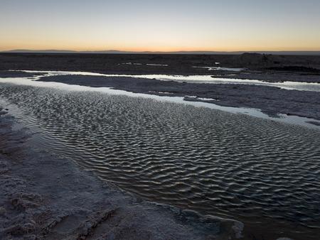 View of Salar de Tara, Los Flamencos National Reserve, San Pedro de Atacama, El Loa Province, Antofagasta Region, Chile