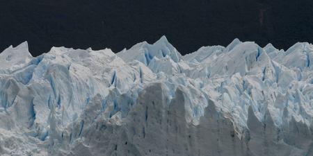Perito Moreno Glacier, Lake Argentino, Los Glaciares National Park, Santa Cruz Province, Patagonia, Argentina Stock Photo