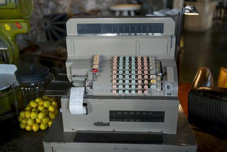 Cash Register, The Singular hotel, Puerto Natales, Patagonia, Chile