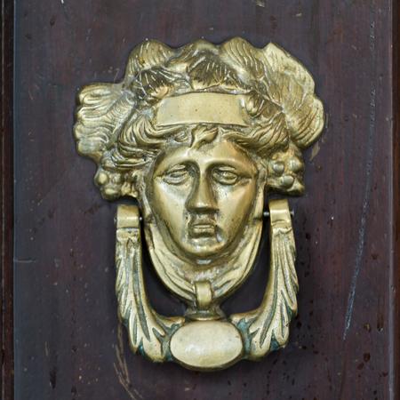 Detail of door knocker, Centro, Dolores Hidalgo, Guanajuato, Mexico