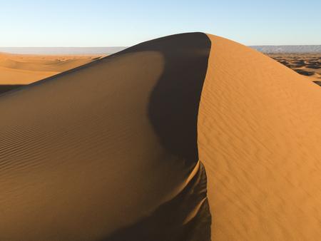 Erg Chegaga Dunes in Sahara Desert, Morocco