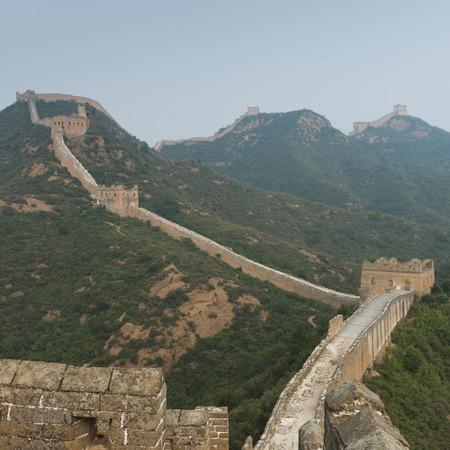 Jinshanling section of Great Wall Of China, Beijing, China