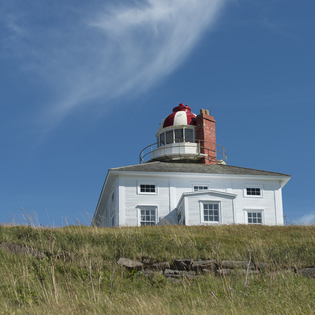 Lighthouse at Cape Spear, St. John's, Newfoundland And Labrador, Canada