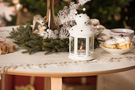 Weihnachtstischgedeck