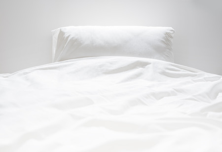 White fresh linen nobody