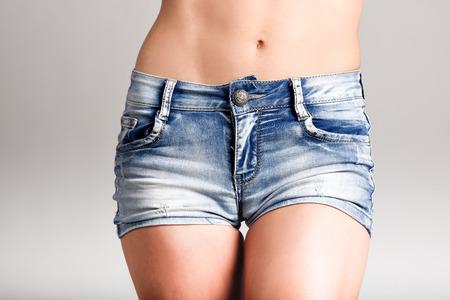 Models in tight shorts