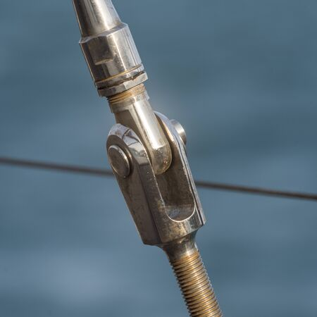 Close-up of turnbuckle, Montenegro Reklamní fotografie