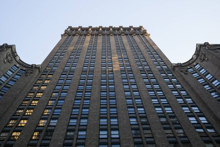 Low angle view of Helmsley Building, Midtown Manhattan, New York City, New York State, USA